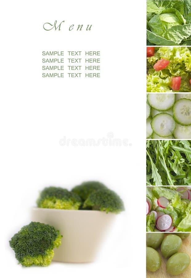 Carte verte image libre de droits