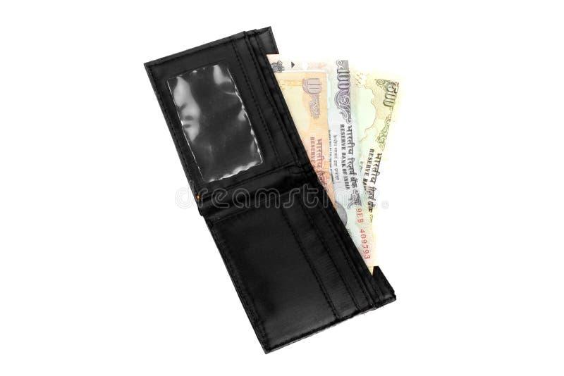 Carteira indiana foto de stock royalty free