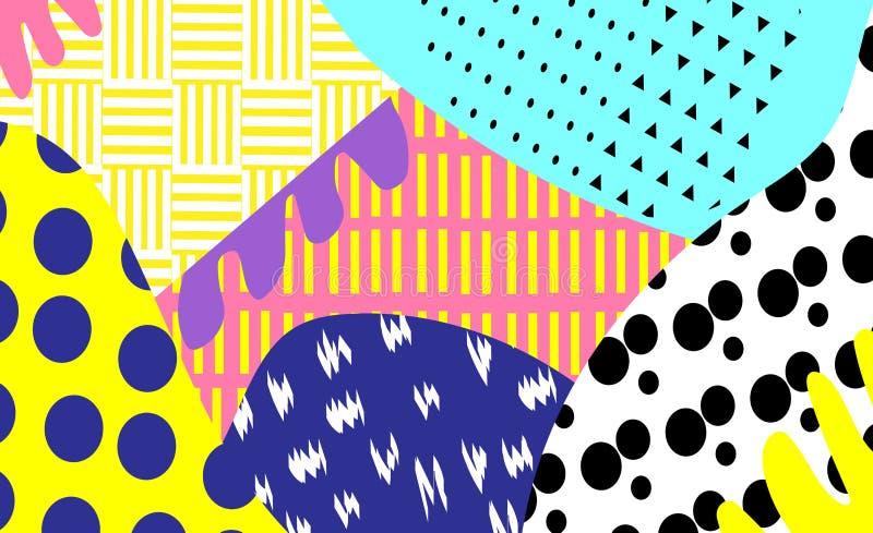 Cartel brillante del partido del verano libre illustration