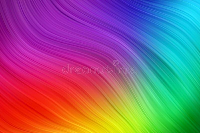 Cartel colorido moderno del flujo Fondo líquido del color de la forma de la onda Diseño del arte para su proyecto de diseño Ilust stock de ilustración