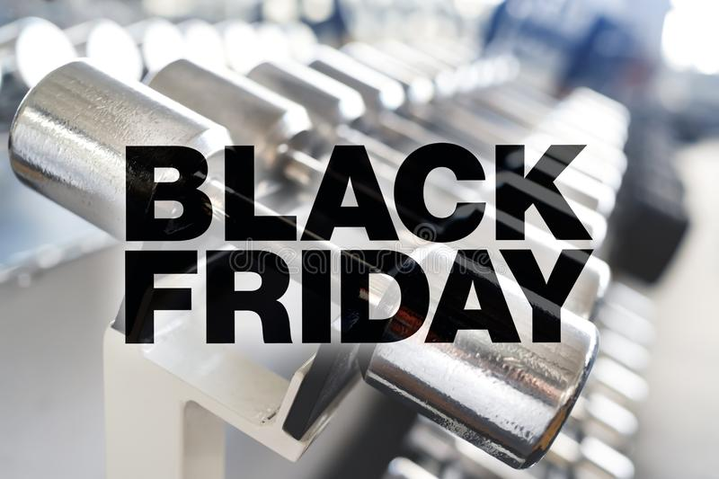 Cartel de Black Friday imagenes de archivo