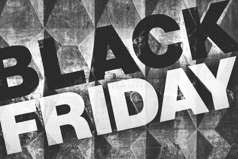 Cartel de Black Friday foto de archivo libre de regalías