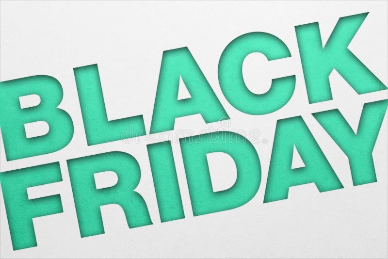 Cartel de Black Friday fotografía de archivo