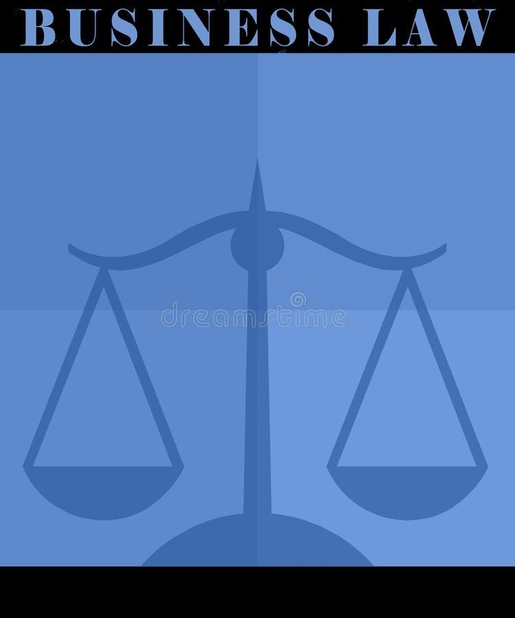 Cartel de la ley de asunto stock de ilustración