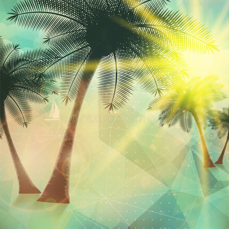 Download Cartel De La Opinión De La Playa Extracto Geométrico Ilustración del Vector - Ilustración de hawaii, playa: 41900556