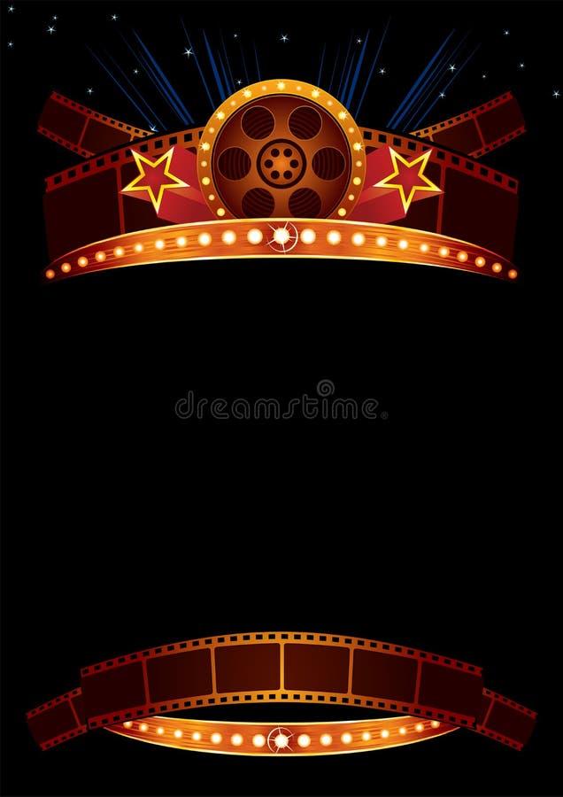 Cartel de película libre illustration