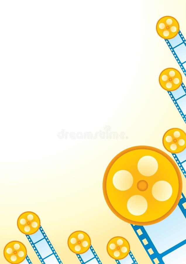 Cartel de película retro ilustración del vector