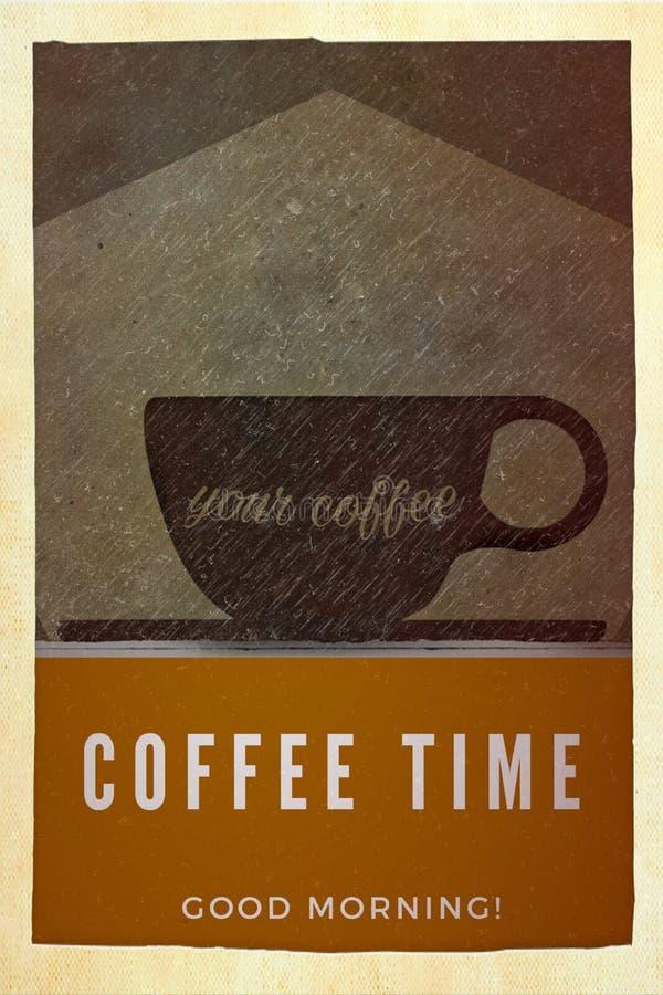 Cartel del café libre illustration