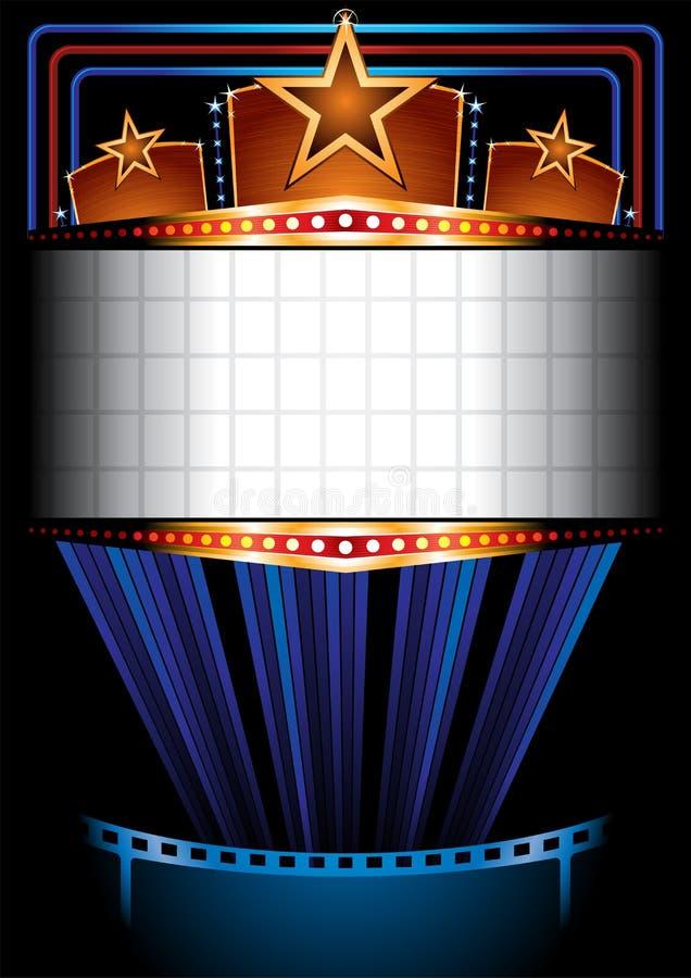 Cartel del cine libre illustration
