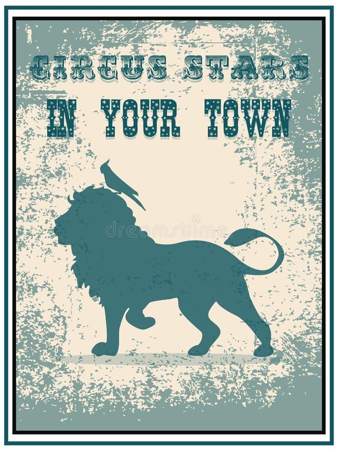 Cartel del circo libre illustration