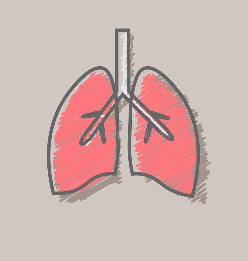 Cartel del día de tuberculosis de mundo con los pulmones hechos de píldoras en el fondo blanco Muestra de la conciencia de la TB libre illustration