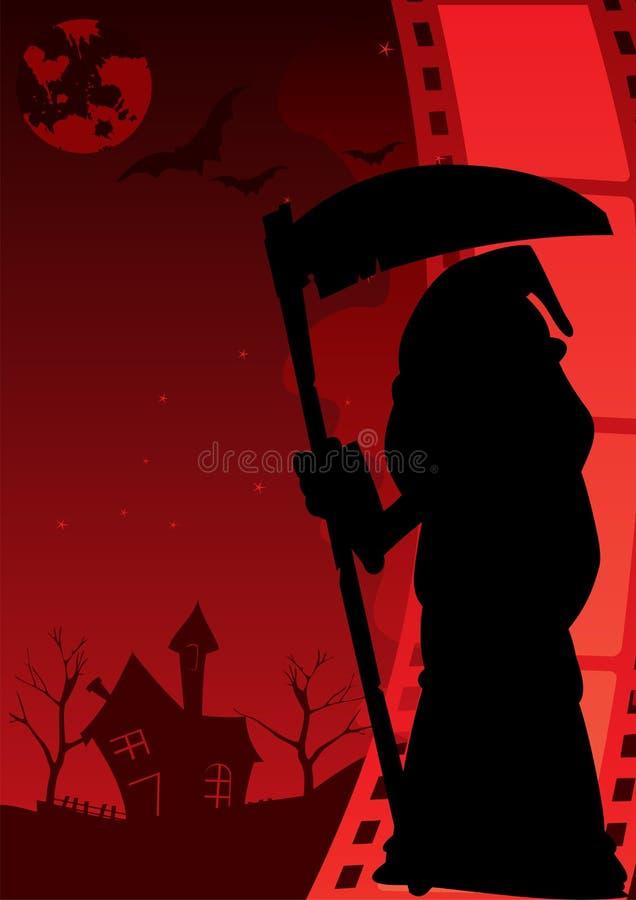 Cartel del horror libre illustration