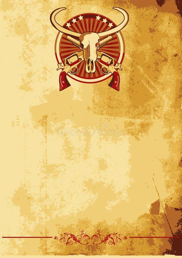 Cartel del oeste salvaje II libre illustration