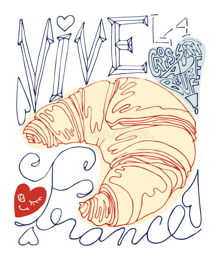 Download Cartel francés ilustración del vector. Ilustración de ilustración - 41902976