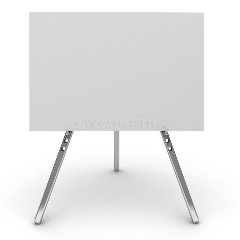 cartelera 3d aislada en blanco. libre illustration