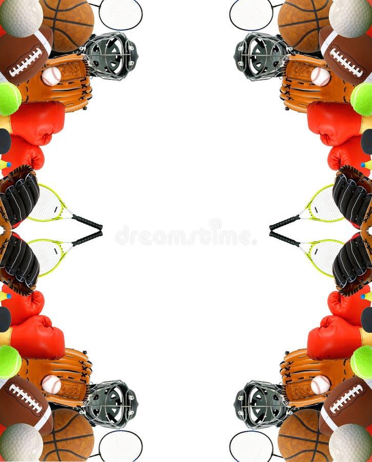 Cartelera de los deportes ilustración del vector