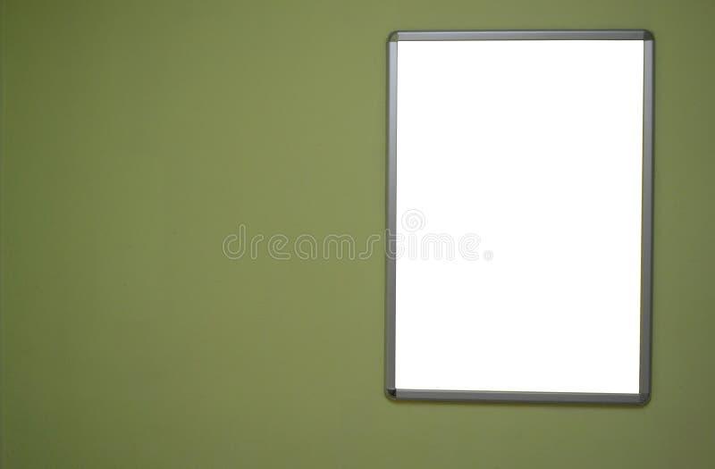 Cartelera en blanco foto de archivo libre de regalías