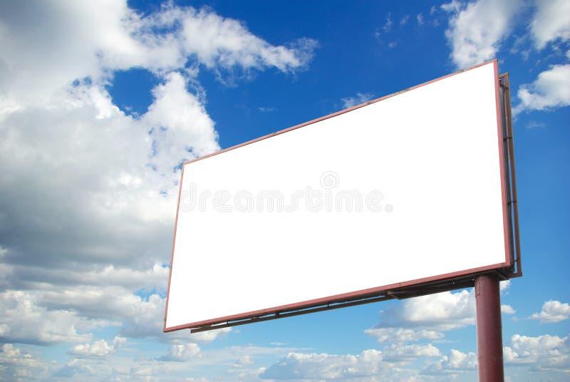 Download Cartelera en el cielo foto de archivo. Imagen de cartelera - 7283900