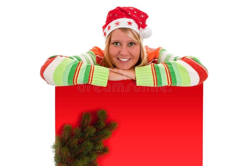 Cartelera roja fotografía de archivo libre de regalías