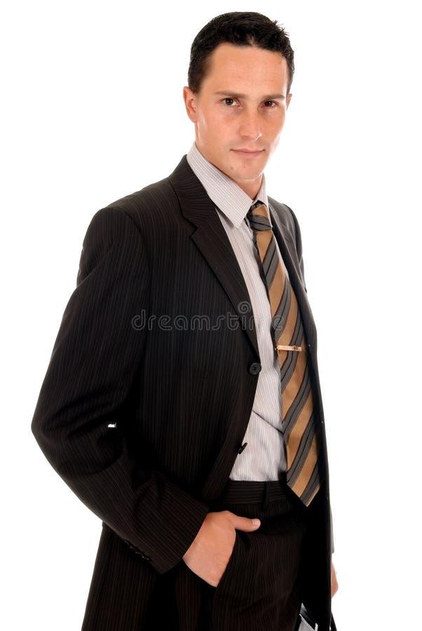 Cartella dell'uomo d'affari fotografie stock