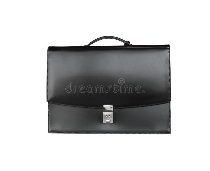 Cartella nera fotografia stock