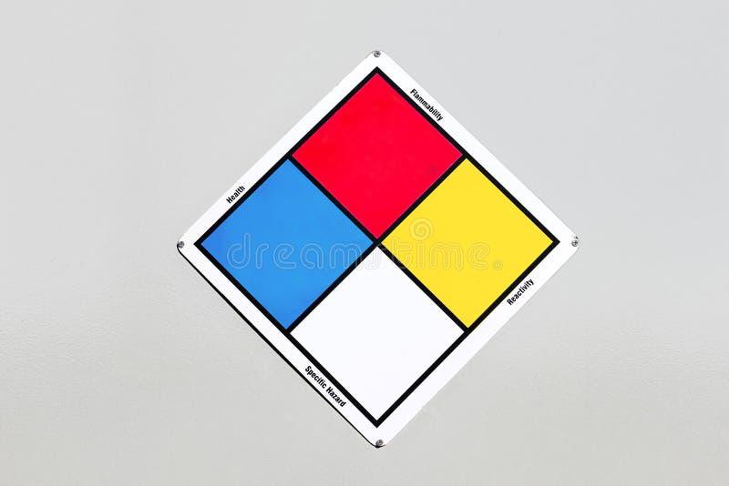 Cartello di colore immagini stock