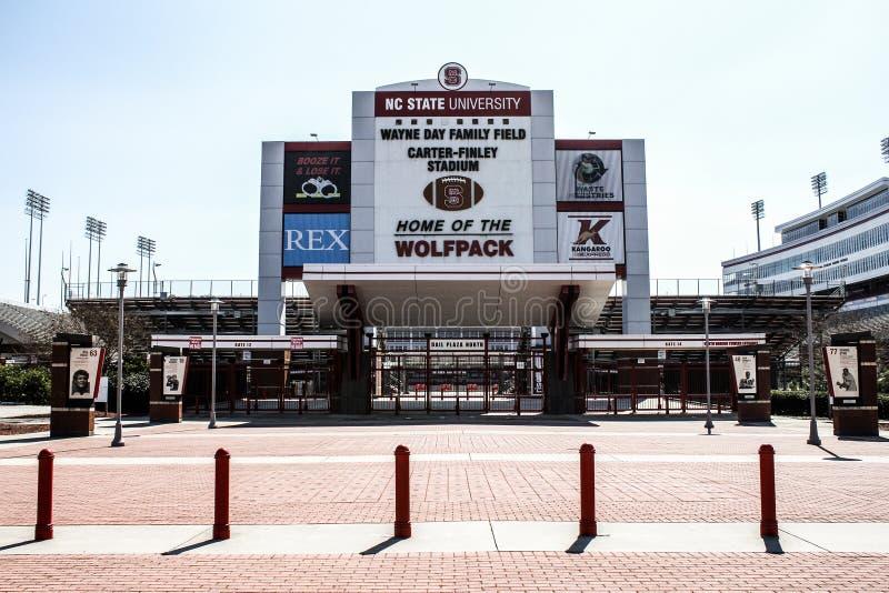 Carter-Finley Stadium, Cary, North Carolina stockbilder