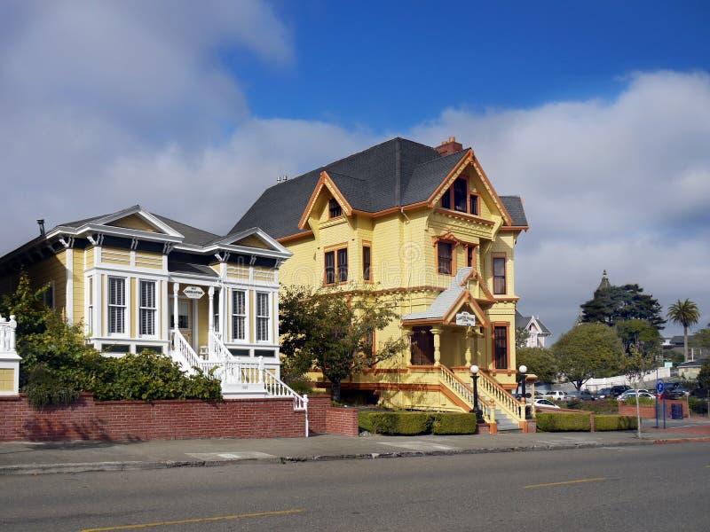 Carter House Inn, construções vitorianos, Eureka Califórnia fotografia de stock royalty free