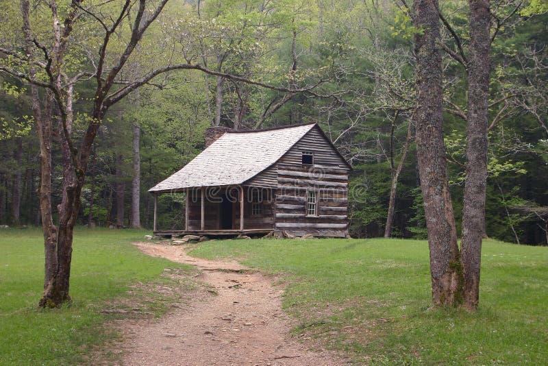 Carter protege a cabine foto de stock royalty free