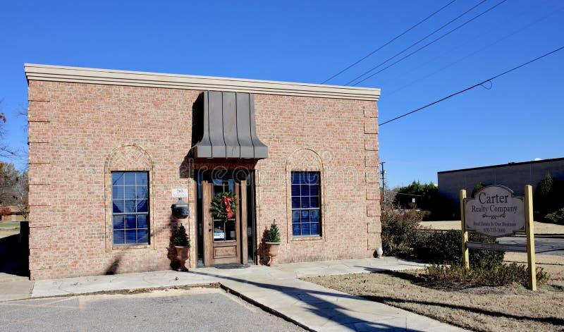 Carter Realty Company, West Memphis, Arkansas royalty free stock photography