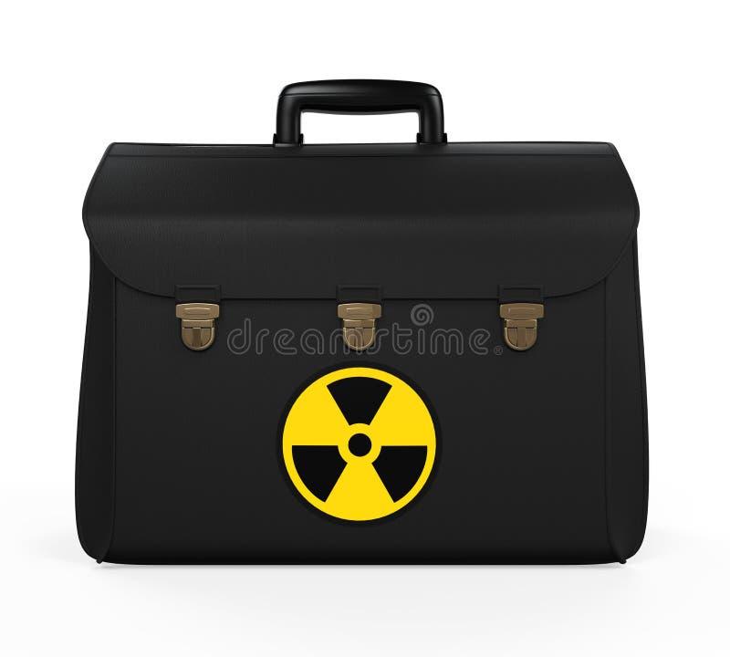 Cartera nuclear del fútbol libre illustration