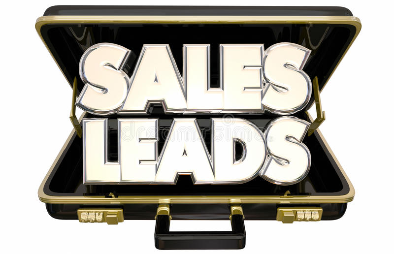 Cartera vendedora de los clientes de las perspectivas de las ventajas de las ventas nueva libre illustration