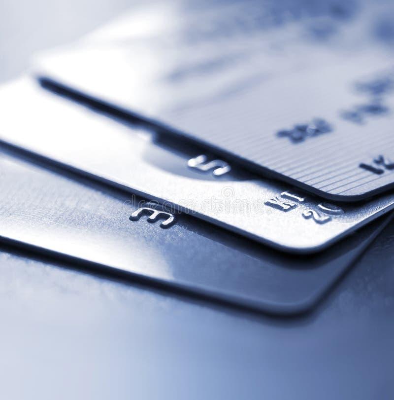 Cartes de crédit image stock