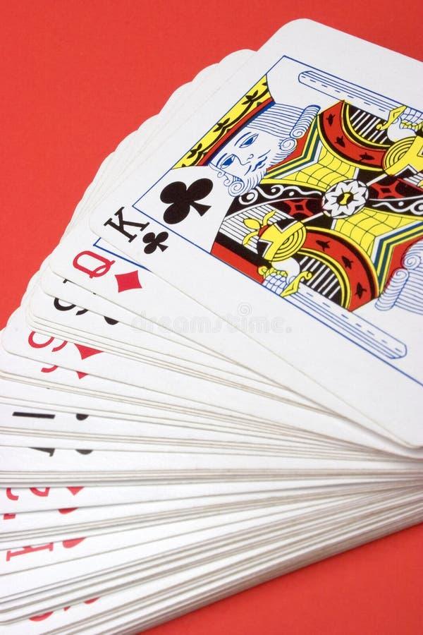 Cartes de jeu photographie stock