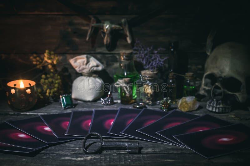 Cartes de Tarot image libre de droits