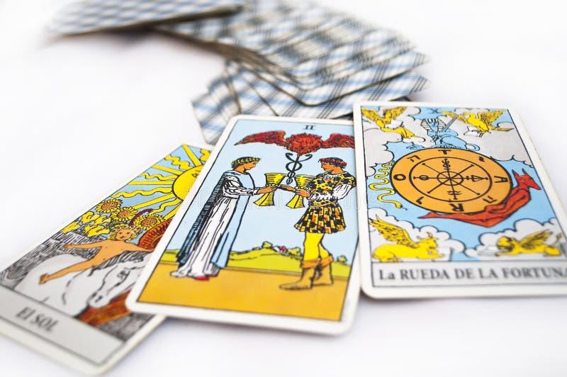 Cartes de Tarot photo libre de droits