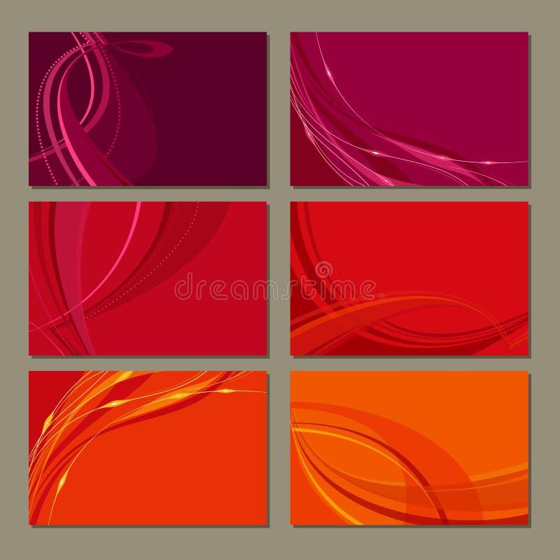 Download Cartes De Visite Professionnelle De Visite Illustration de Vecteur - Illustration du blanc, multi: 45370787