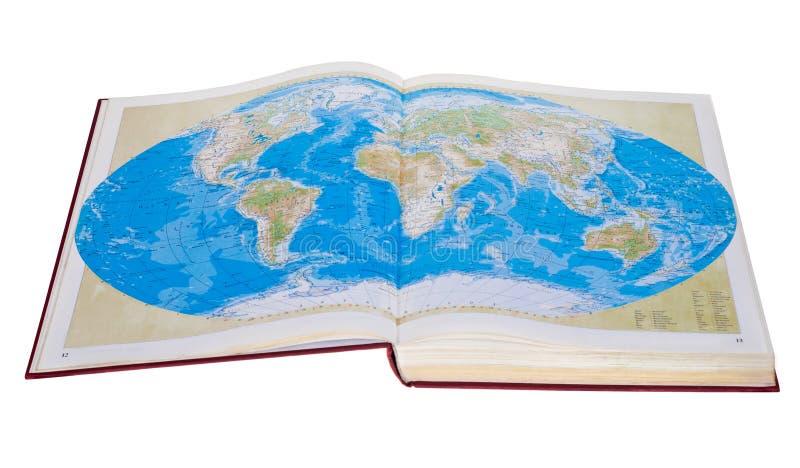 Cartes du monde photographie stock
