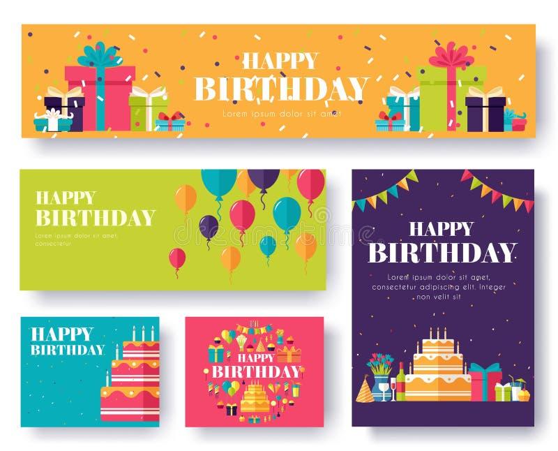 Cartes en liasse de l'information de cadeau Étonnez le calibre de flyear, magazines, affiches, couverture de livre, bannières Bac illustration de vecteur