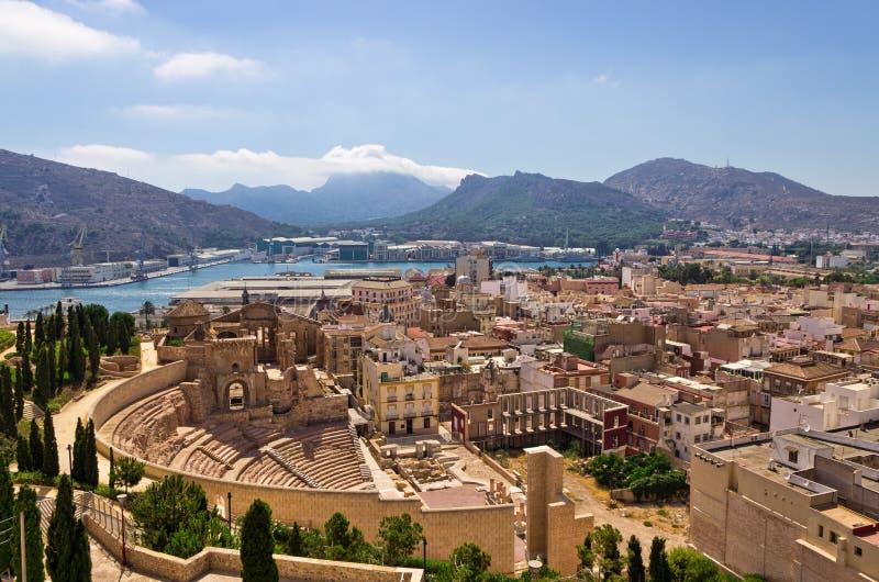 Carthagène, Espagne photos libres de droits