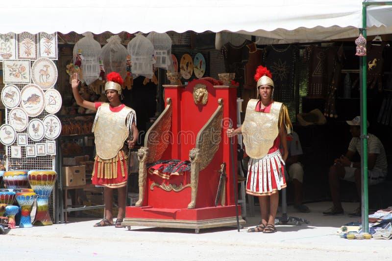 Carthage żołnierze zdjęcie royalty free