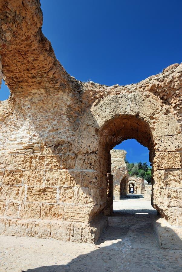 Carthage em Tunísia fotografia de stock