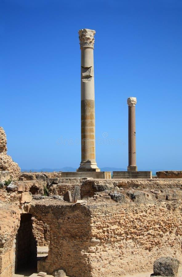 carthage ruiny obrazy stock