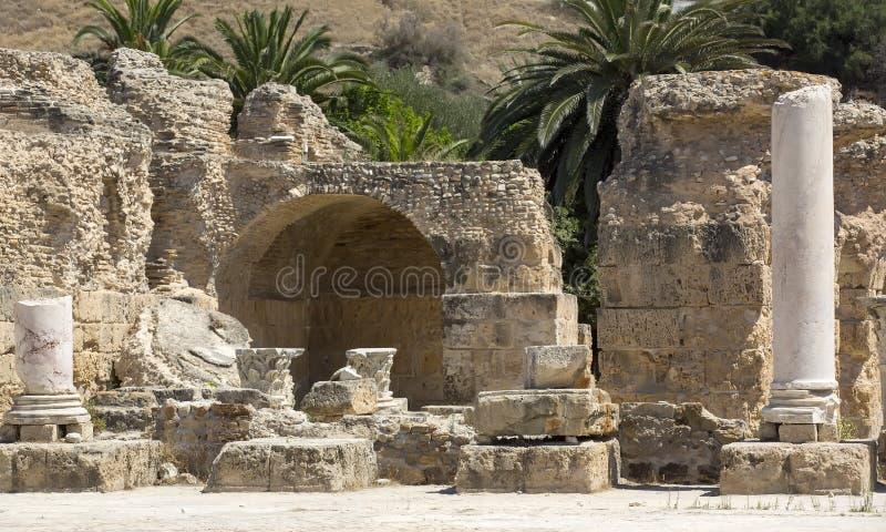 carthage ruiny zdjęcie stock
