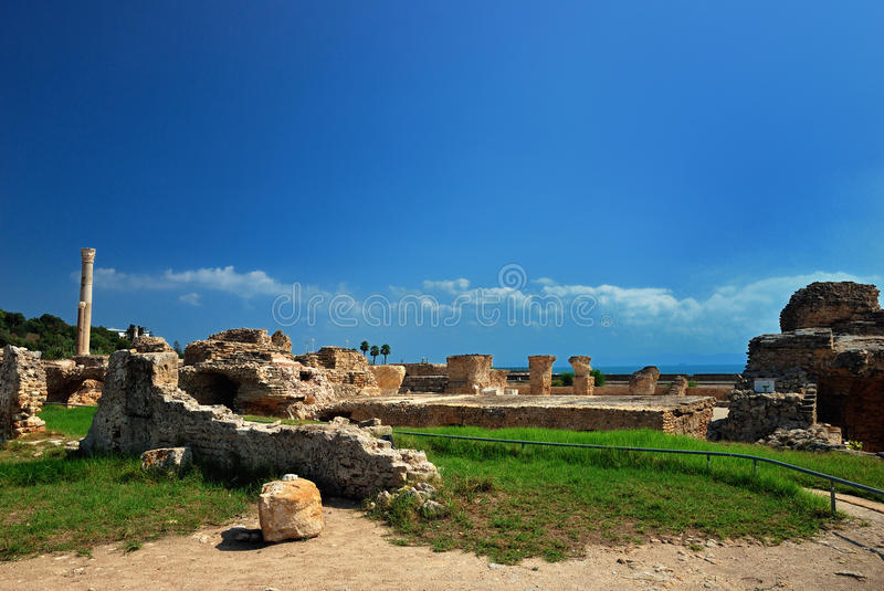Carthage In Tunisia Stock Images