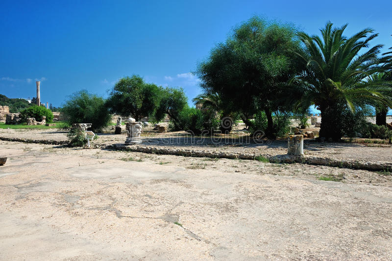 Download Carthage in Tunisia stock image. Image of archaeological - 28016037