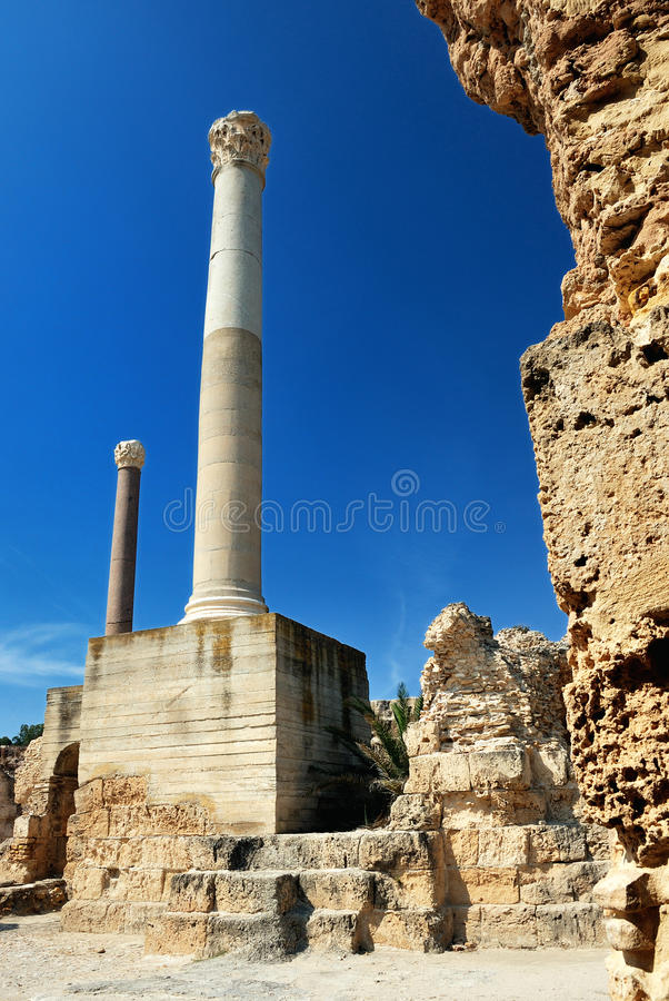 Download Carthage in Tunisia stock photo. Image of famous, africa - 28104438