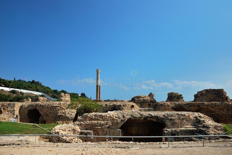 Download Carthage w Tunezja zdjęcie stock. Obraz złożonej z craftsmanship - 28016038