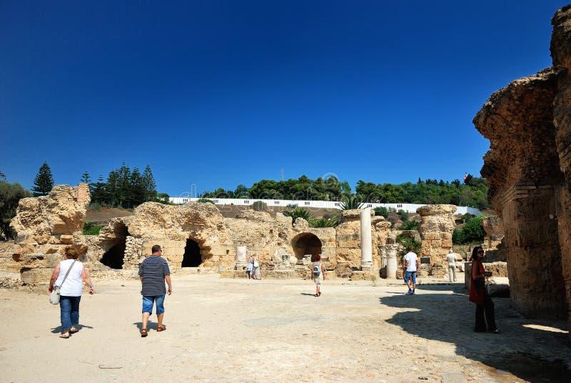 Download Carthage w Tunezja obraz editorial. Obraz złożonej z antyk - 28104425