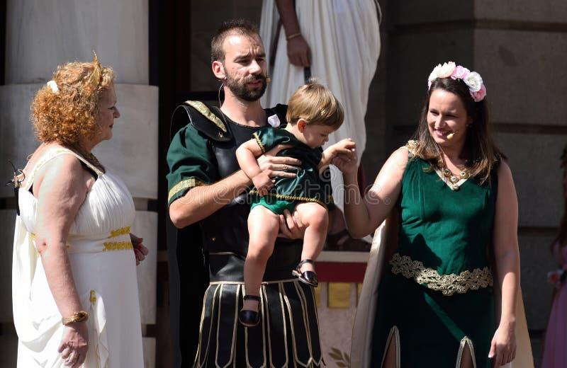 CARTHAGINIANS И ФИЕСТА ROMANS стоковое изображение rf